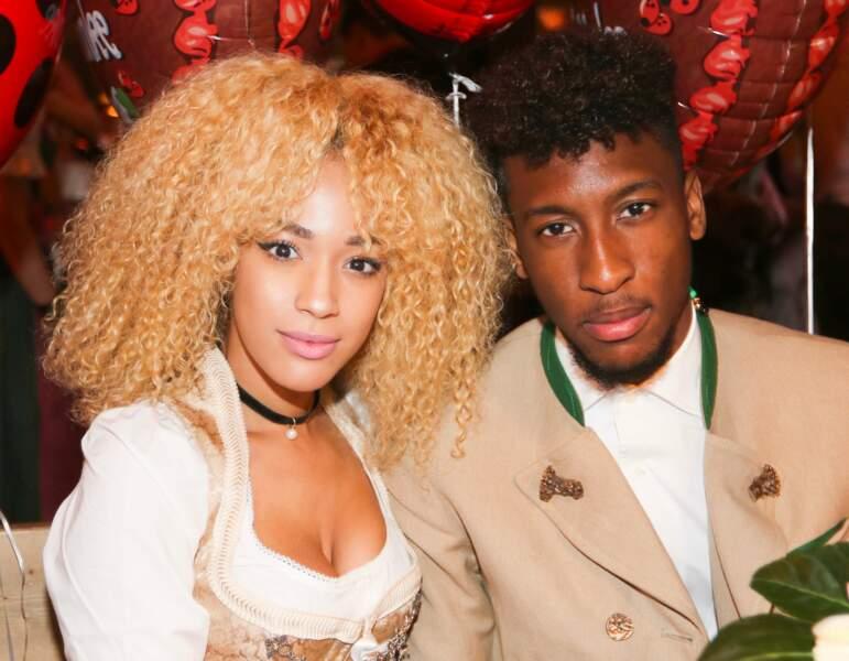 Kingsley Coman et sa compagne, le mannequin Sephora Goignan, forment un joli couple.
