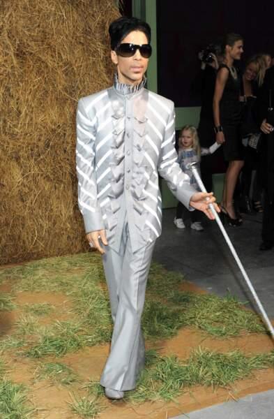 Et en Chanel, aussi lors d'un défilé de la marque