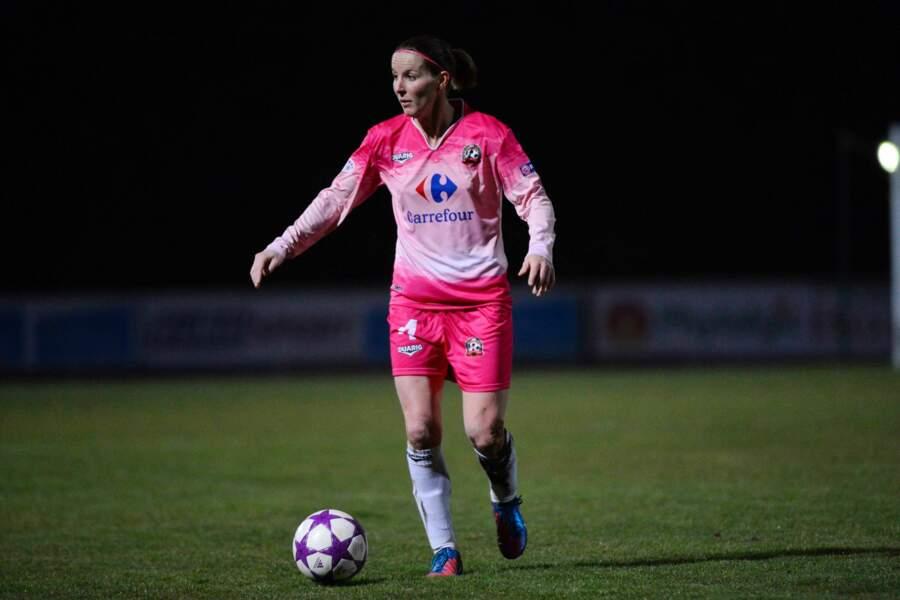 La footballeuse Amélie Coquet (34 ans).