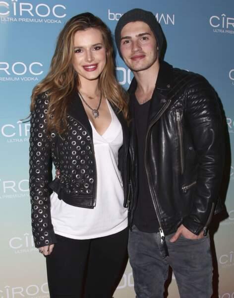 Les acteurs Bella Thorne et Gregg Sulkin, en couple depuis 2015.