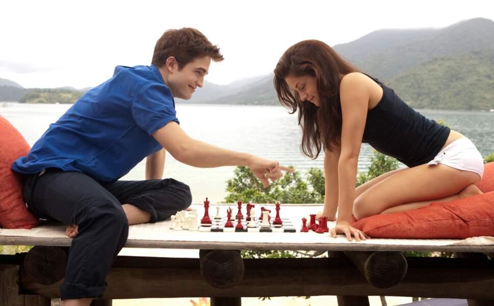 Robert Pattinson et Kristen Stewart en pleine réflexion