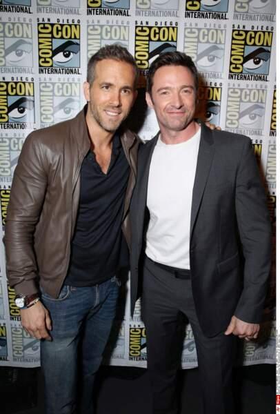 Ryan Reynolds et Hugh Jackman / Deadpool et Wolverine