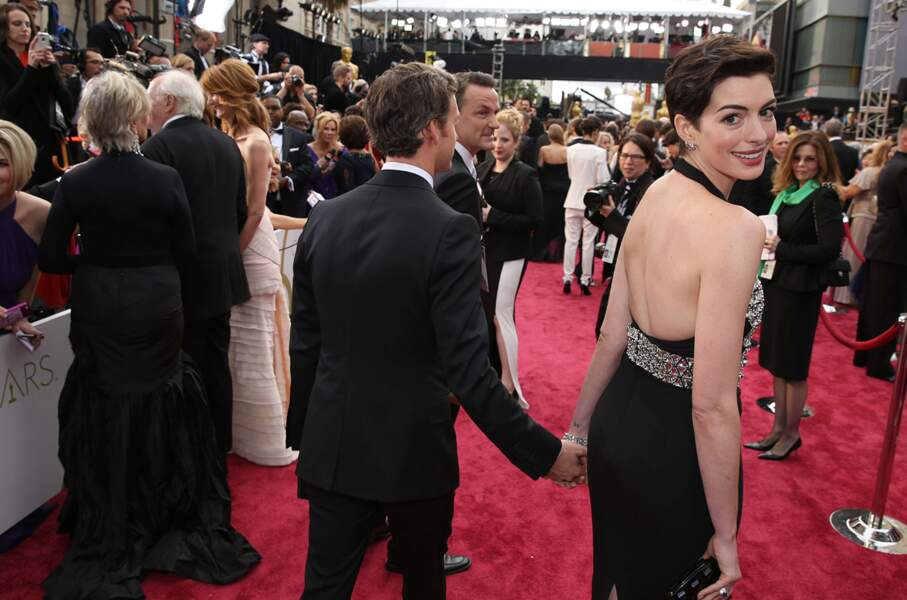 Coucou Anne Hathaway !