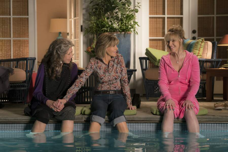 Jane Fonda a décroché le rôle principal de la série de Netflix Grace et Frankie