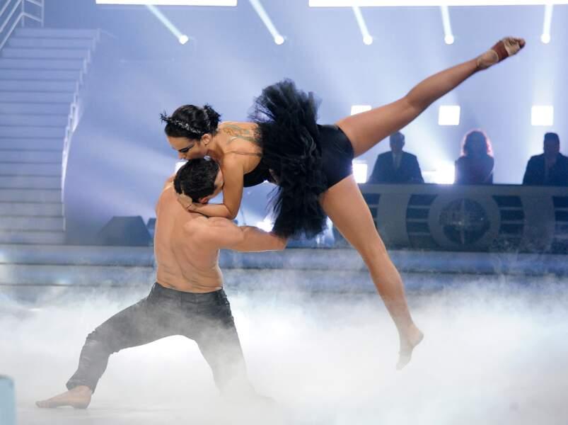 Alizée et Grégoire Lyonnet passionnés à la première de la tournée Danse avec les stars à Bercy