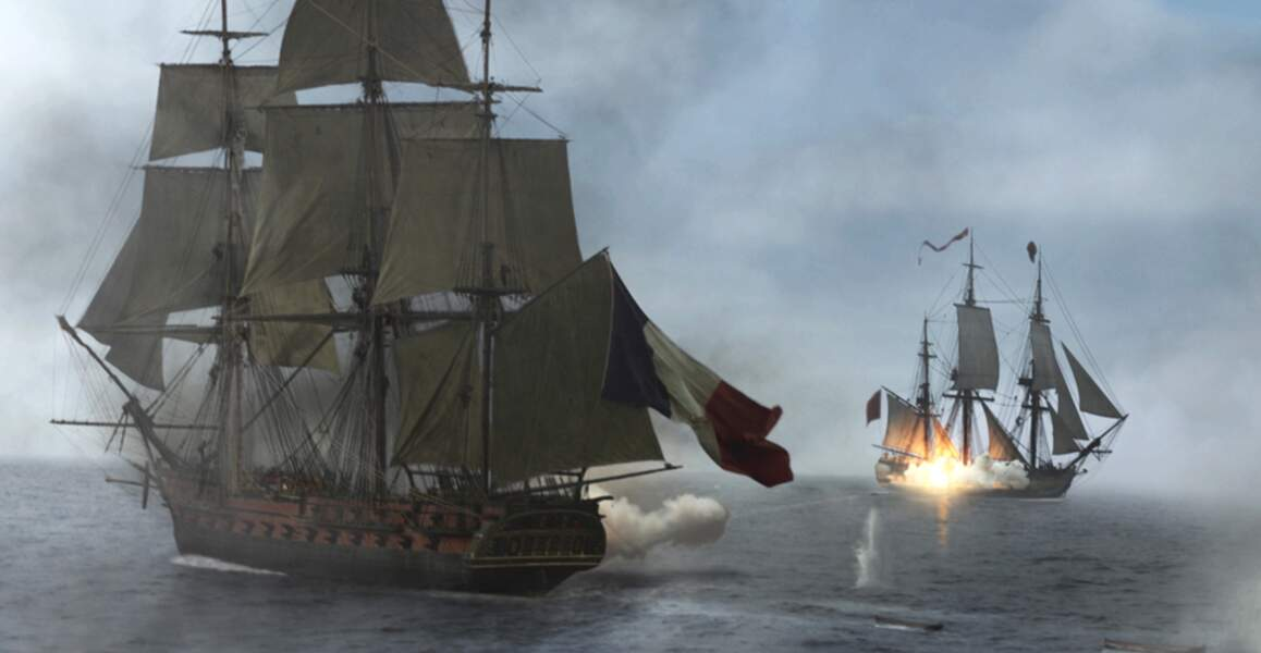 Master and Commander (2003) : Un film de pirates ne serait pas digne sans une belle bataille navale