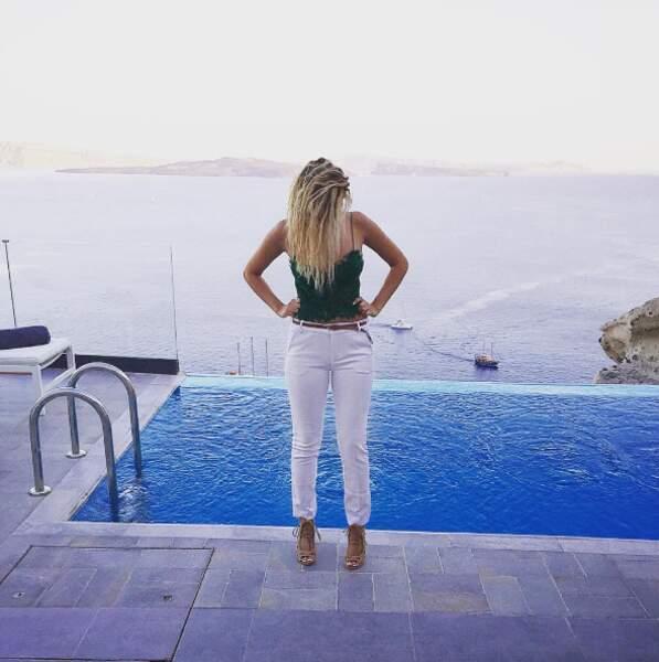 On lui souhaite de belles vacances (même si on ne s'inquiète pas trop pour elle)