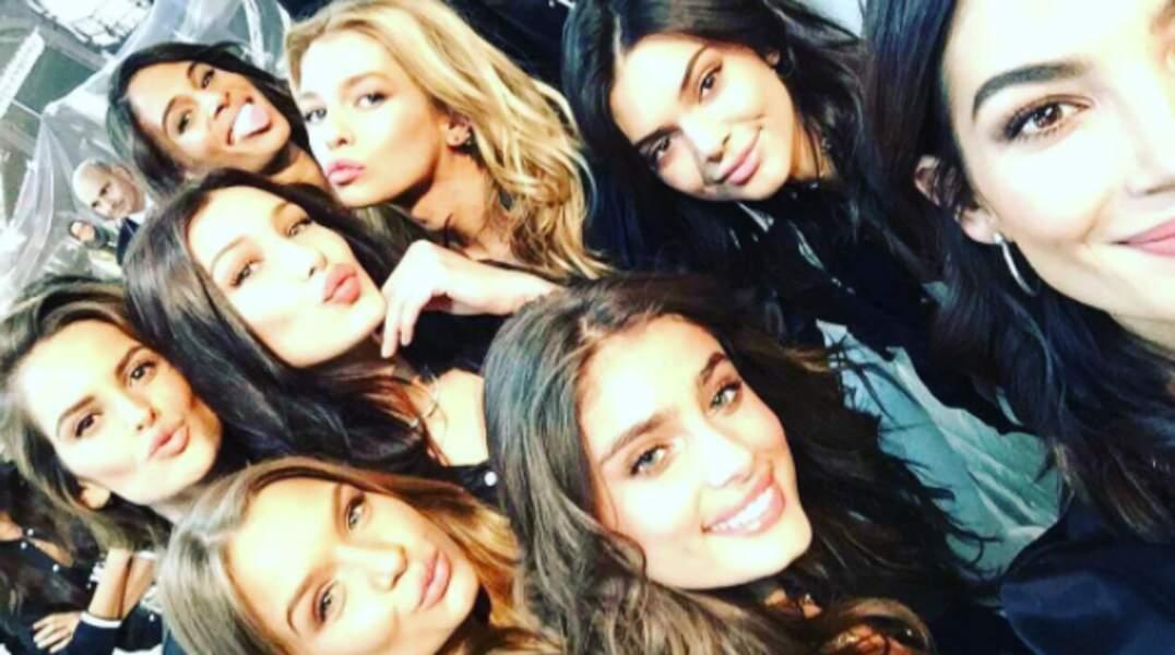 Ça y est, les top-models Victoria's Secret ont investi la capitale française !