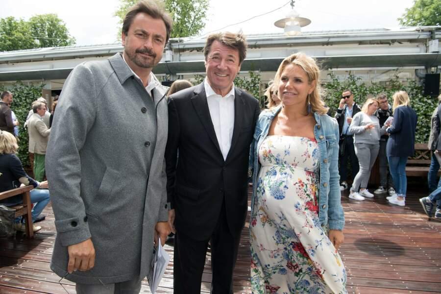 Henri Leconte escorté des époux Christian Estrosi et Laura Ténouji