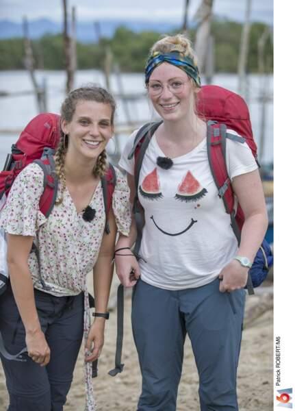 Estelle (24 ans) et Estelle (27 ans), les copines belges