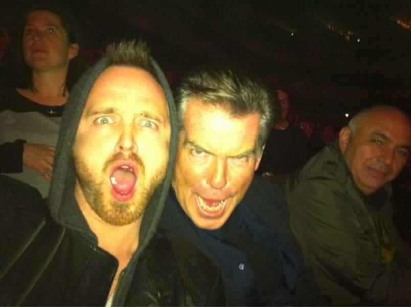 Quand Jesse Pinkman de Breaking Bad rencontre James Bond au concert de Radiohead... ça fait flipper !