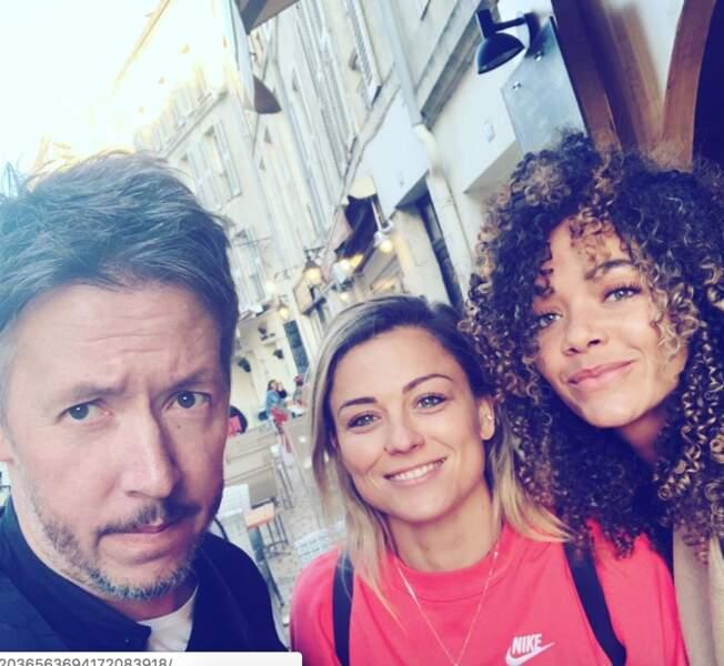Jean-Luc Lemoine, Anaïs Grangerac et Capucine Anav (Laure Boulleau en photo)