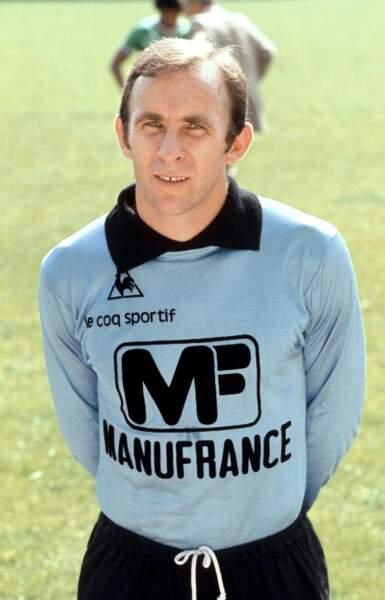 Ivan Curkovic, le doyen et dernier rempart quasi-infranchissable des Verts en 1976...
