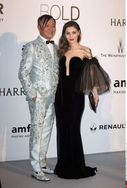 Stephen Hung, extravagant milliardaire chinois au goût, comment dire, spécial. Et sa femme Deborah Valdez-Hung