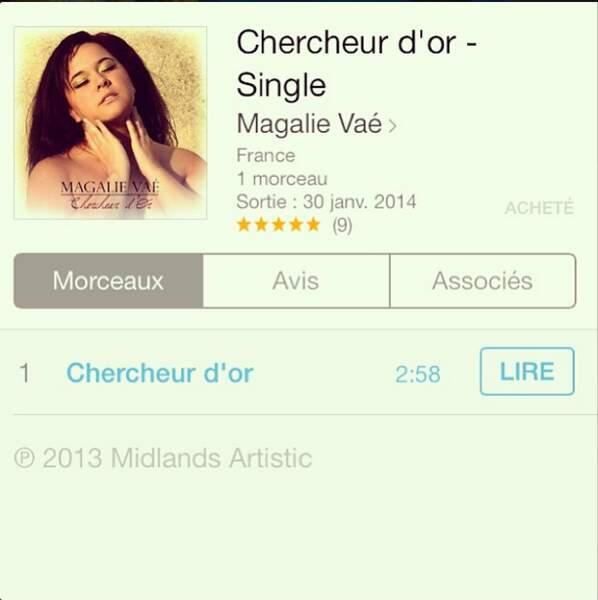 Magalie Vaé nous rappelle qu'il faut (oui, il faut !) acheter son single