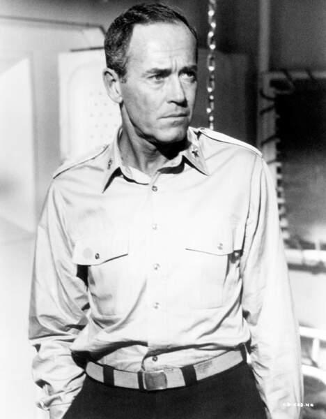 Le Brigadier général Theodor Roosevelt Jr (Henry Fonda) dans Le Jour le plus long (1962)