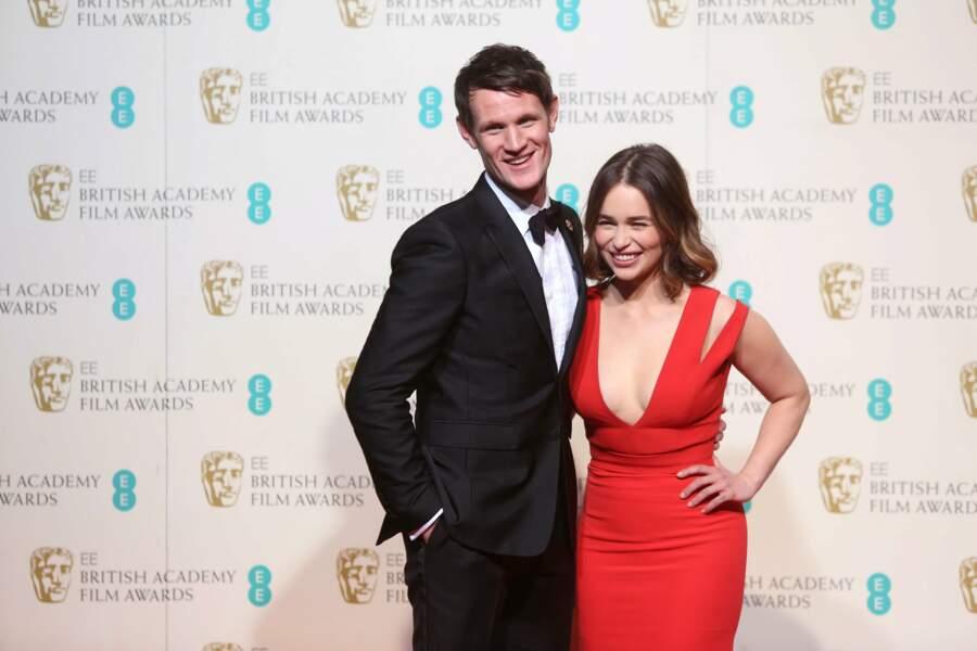 Matt Smith a raconté la blague de Paf le chien à Emilia Clarke