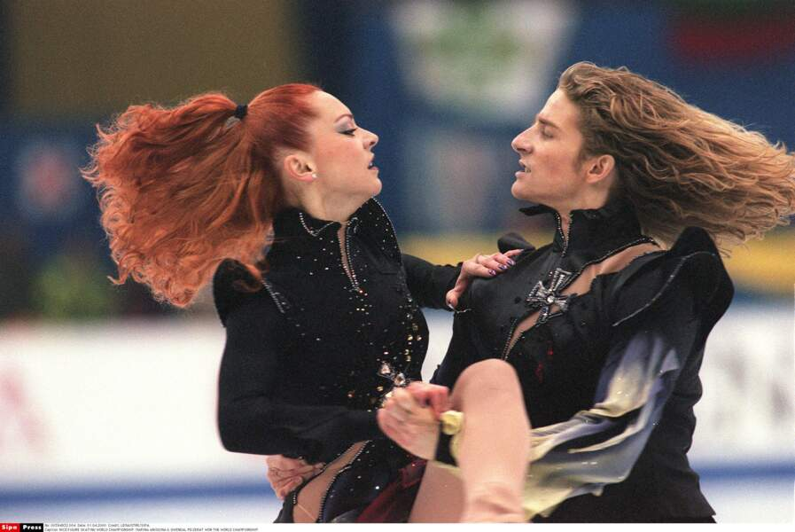 C'est à Nice en 2000 que Marina Anissina devient championne du monde