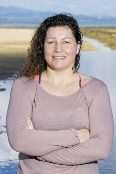 Sandrine, candidate de Koh-Lanta Fidji