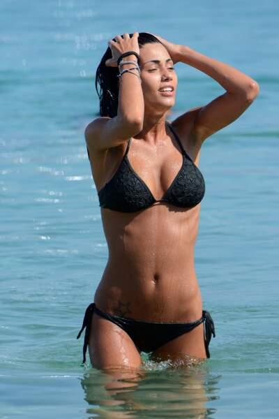 Frederica Nargi s'éclate à la plage