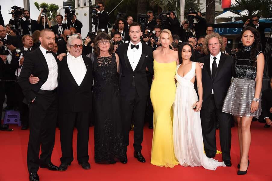 L'équipe de Mad Max : Fury Road au 68ème Festival de Cannes