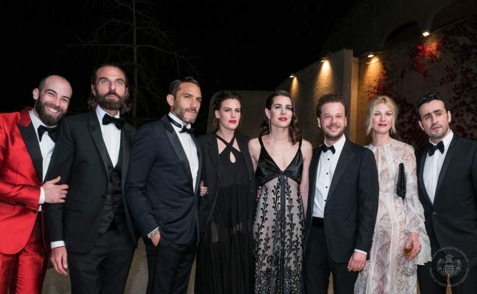 Charlotte Casiraghi entourée de ses invités