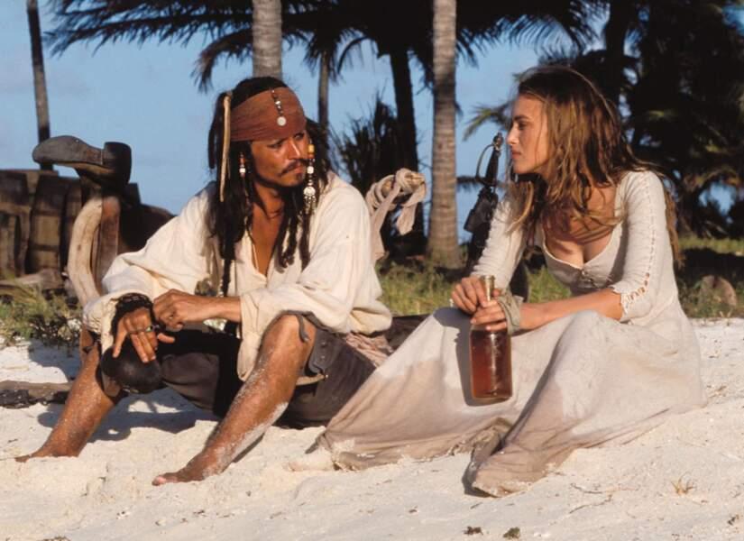 Pirates des Caraïbes 1. Dans la saga Disney, tous les ingrédients d'un film de pirates sont réunis. Ici, le rhum
