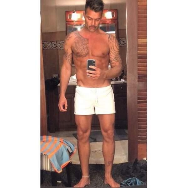 Suivie de près par Ricky Martin.
