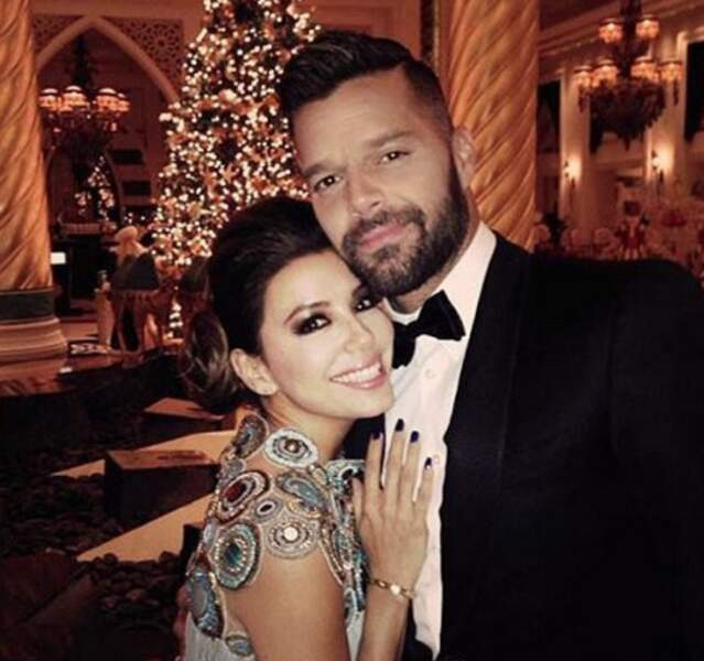 Ricky Martin, un ami sur qui on peut compter.