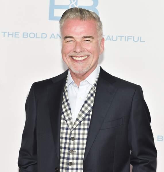 """Parti en 2011, Ian Buchanan a rejoint ensuite la série """"Hôpital central"""". Ici en 2017"""