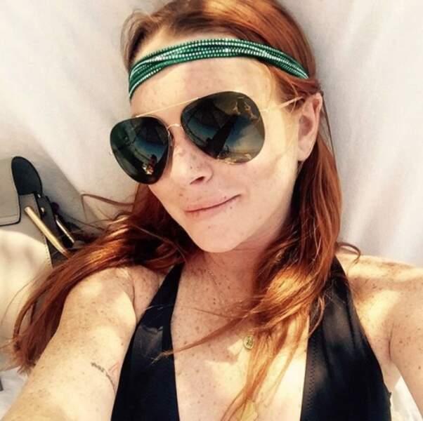 Île où se trouve également Lindsay Lohan !