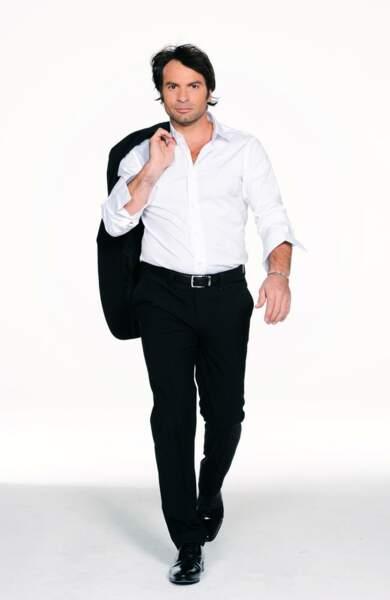 Christophe Dominici en tenue de danse