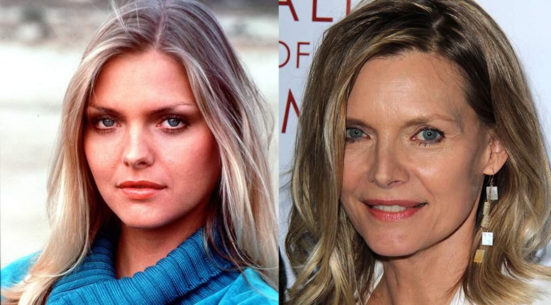Non, Michelle Pfeiffer n'a pas toujours ressemblé à ça.