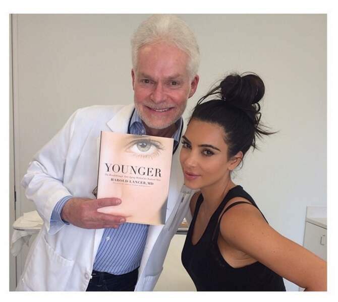 Elle ADORE son dermatologue !