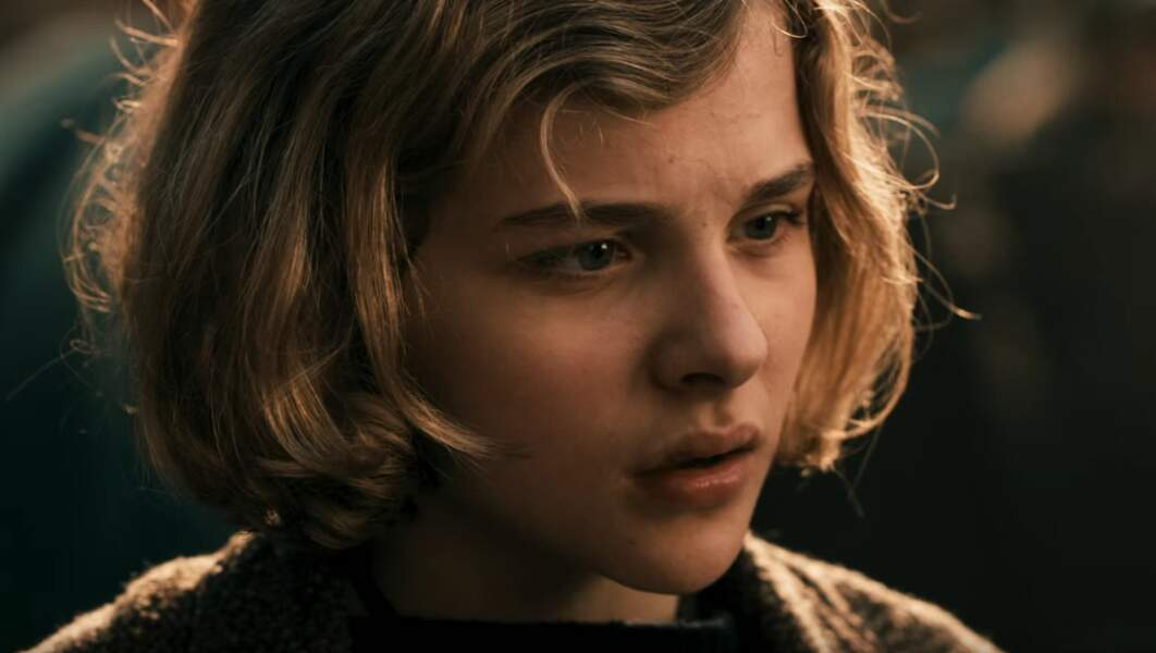 En 2011, Chloë n'a que 14 ans et elle joue la petite fille dans Hugo Cabret de Martin Scorsese