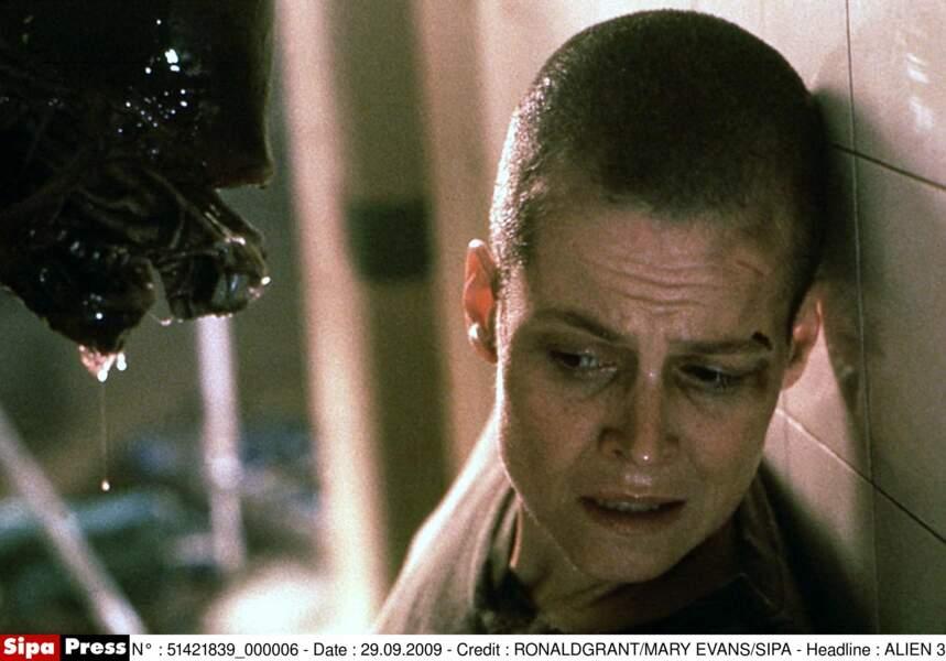 Pour les besoins d'Alien 3, Sigourney Weaver dit au revoir à ses cheveux