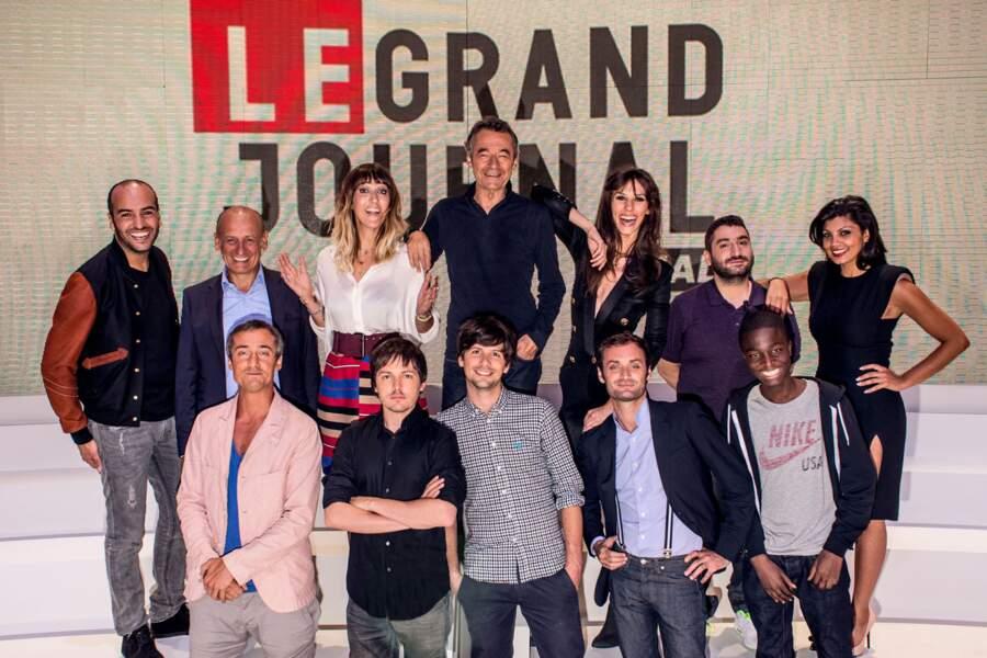 La nouvelle équipe du Grand Journal de Canal + au complet