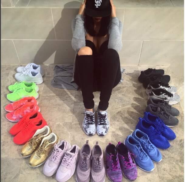 Collectionner les baskets