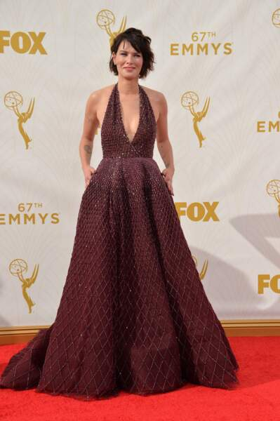 On peine à la reconnaitre mais oui, c'est bien Lena Headey, alias Cersei de Game of Thrones !