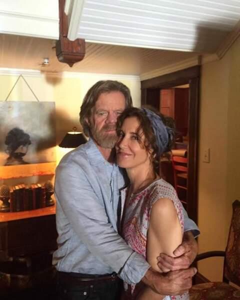 Les vacances, Felicity Huffman et son mari William H. Macy les passent dans les bras l'un de l'autre