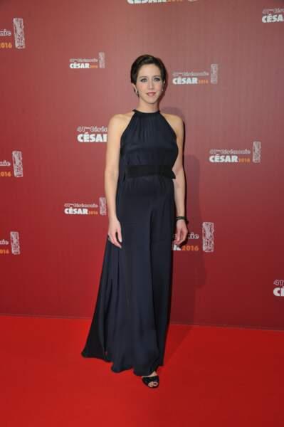 Sara Giraudeau, nommée dans la catégorie Meilleur espoir féminin pour Les bêtises