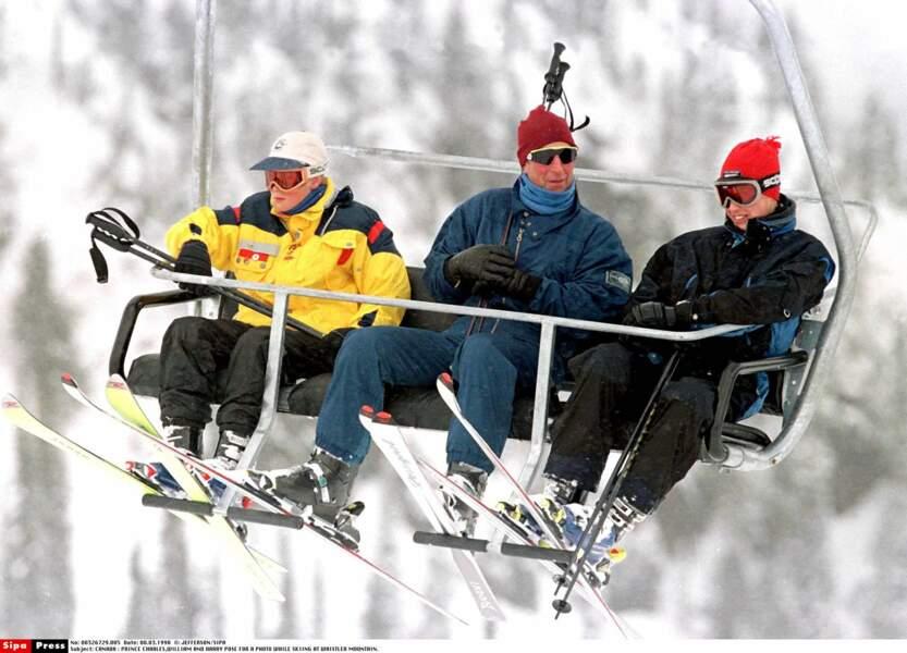 En 1998, vacances au ski entre mecs !