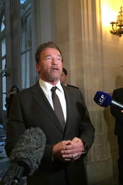 Il s'est déplacé à l'Assemblée Nationale pour un petit discours devant les députés