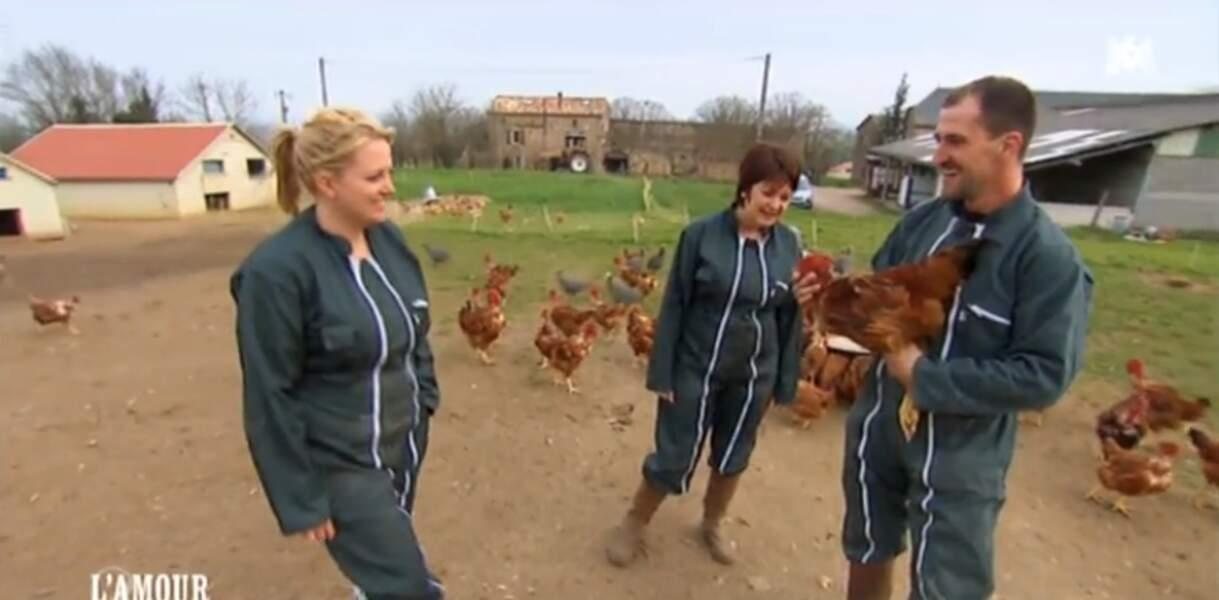 Jean-Baptiste, l'homme qui murmurait à l'oreille des poulets !
