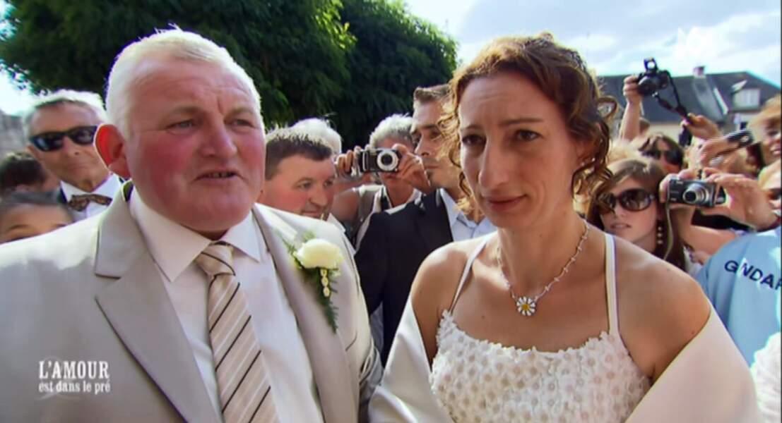 Le fameux mariage de Thierry et Annie avec près de 8.000 curieux...