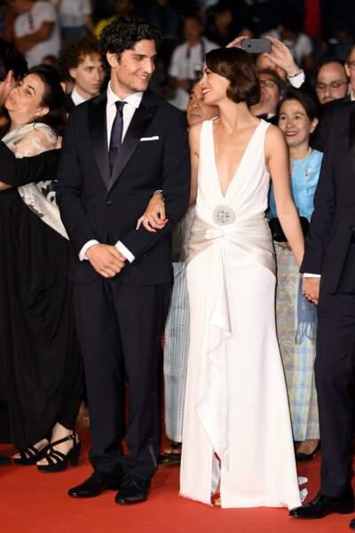 Bérénice Bejo s'est aussi montrée très complice avec son partenaire Louis Garrel