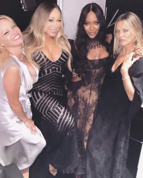 Nous aussi on veut faire la fête avec Pamela, Mariah, Naomi et Kate.