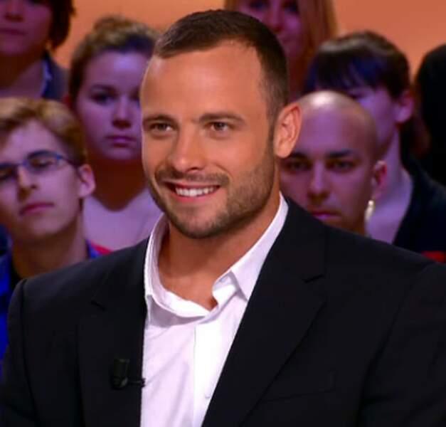 8. Oscar Pistorius, l'athlète sud-africain est peut-être handicapé, mais il aussi très beau gosse !