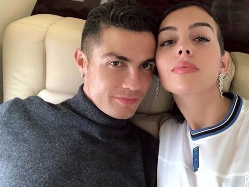 Cristiano Ronaldo comblé au côté de sa compagne