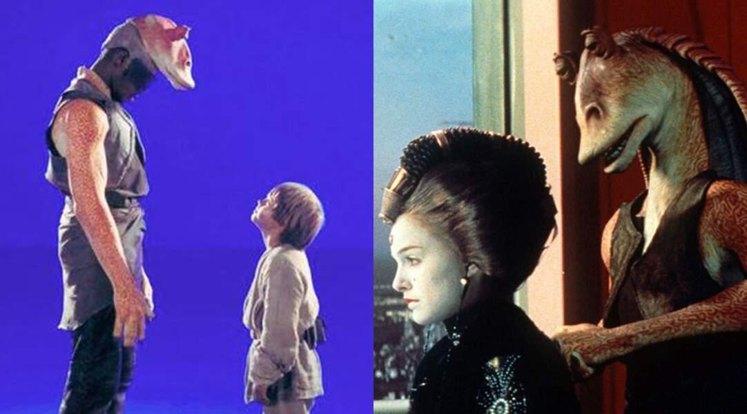 Sur le tournage de Star Wars épisode 1 : la menace fantôme (1999) de George Lucas